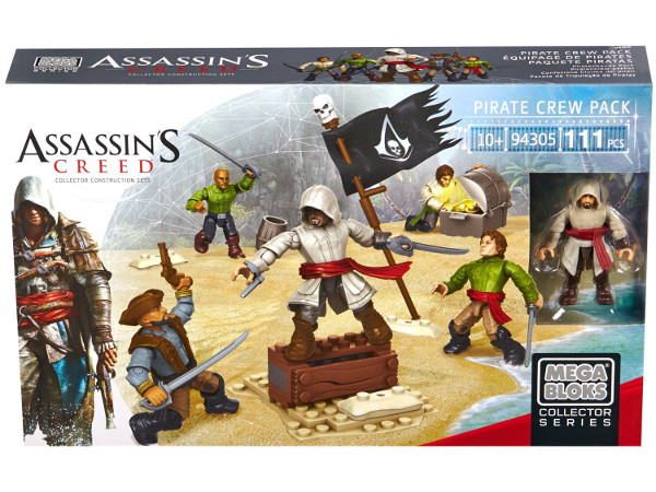 MEGA - BLOKS - ASSASSINS - CREED - PIRACI - 94304-94305