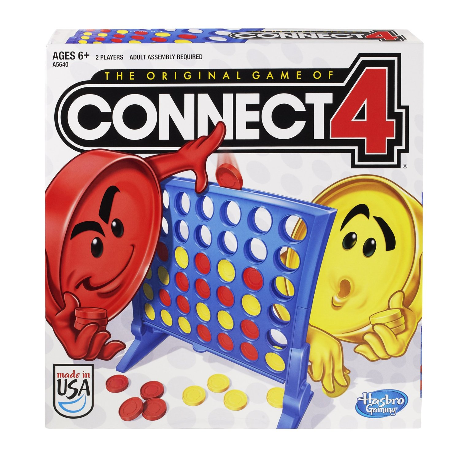 HASBRO - GRA - CONNECT4 - A5640