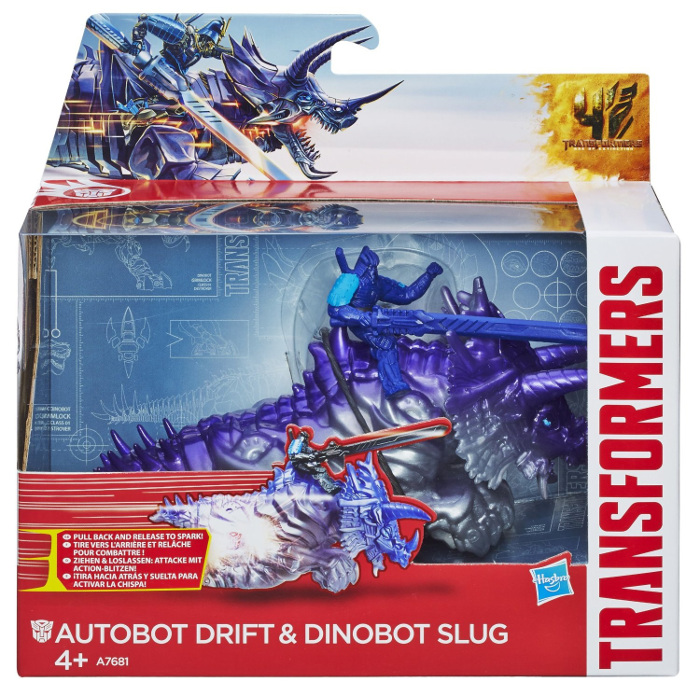 HASBRO - DRIFT - SLUG - TRANSFORMERS - A6492-A7681