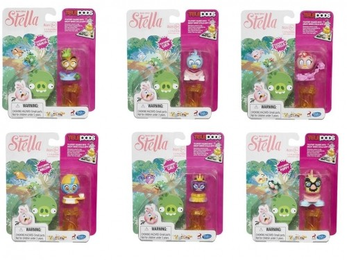 HASBRO - ANGRY - BIRDS - STELLA FIGURKA - TELEPODS - A8880