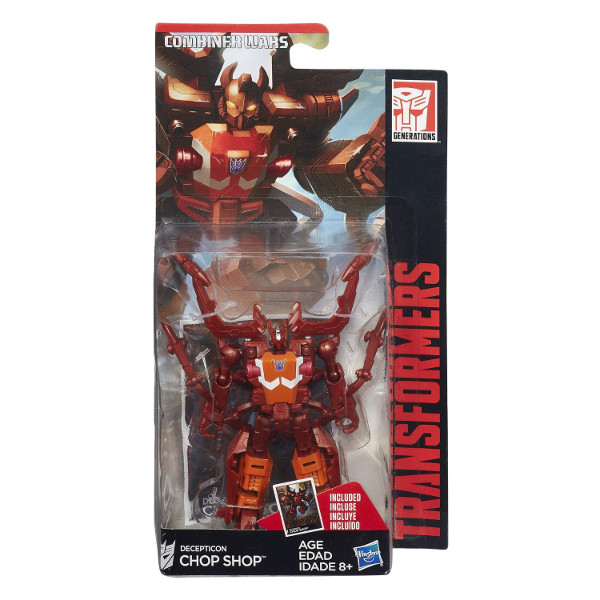 HASBRO - TRANSFORMERS - CHOP SHOP - GENERATIONS - B0971-B4667