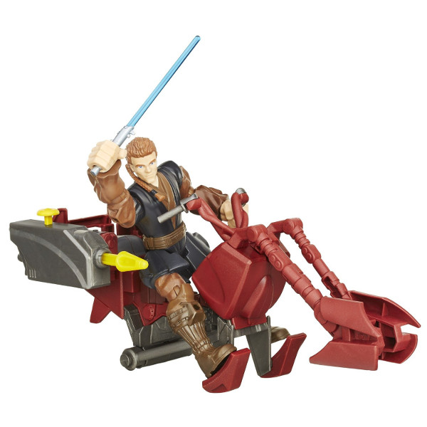 HASBRO - STAR - WARS - HERO - MASHERS - ANAKIN - SKYWALKER - B3831 - B3833