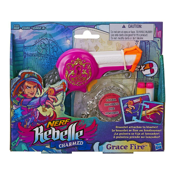 HASBRO - NERF - REBELLE - GRACE FIRE - B4036