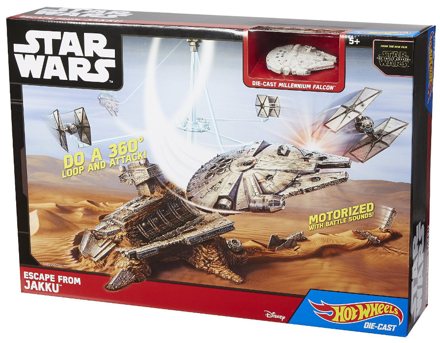 HOT - WHEELS - STAR - WARS - UCIECZKA - Z - JAKKU - CGN32