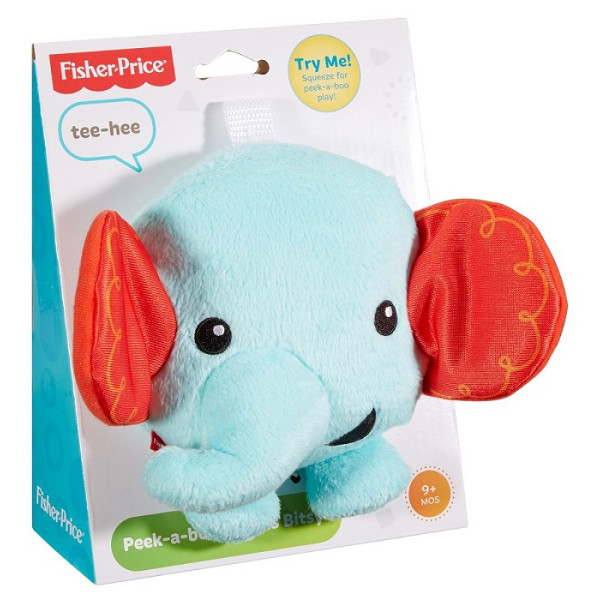 FISHER - PRICE - CHICHOTKA - A KUKU - SŁONIK - CMY54-CMY49