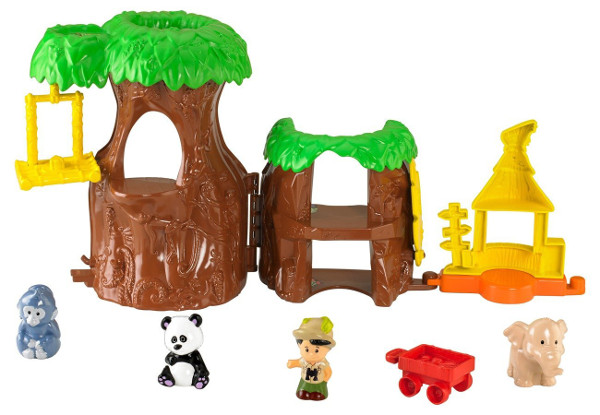 FISHER - PRICE - LITTLE - PEOPLE - TROPIKALNE - ZOO - Y3679