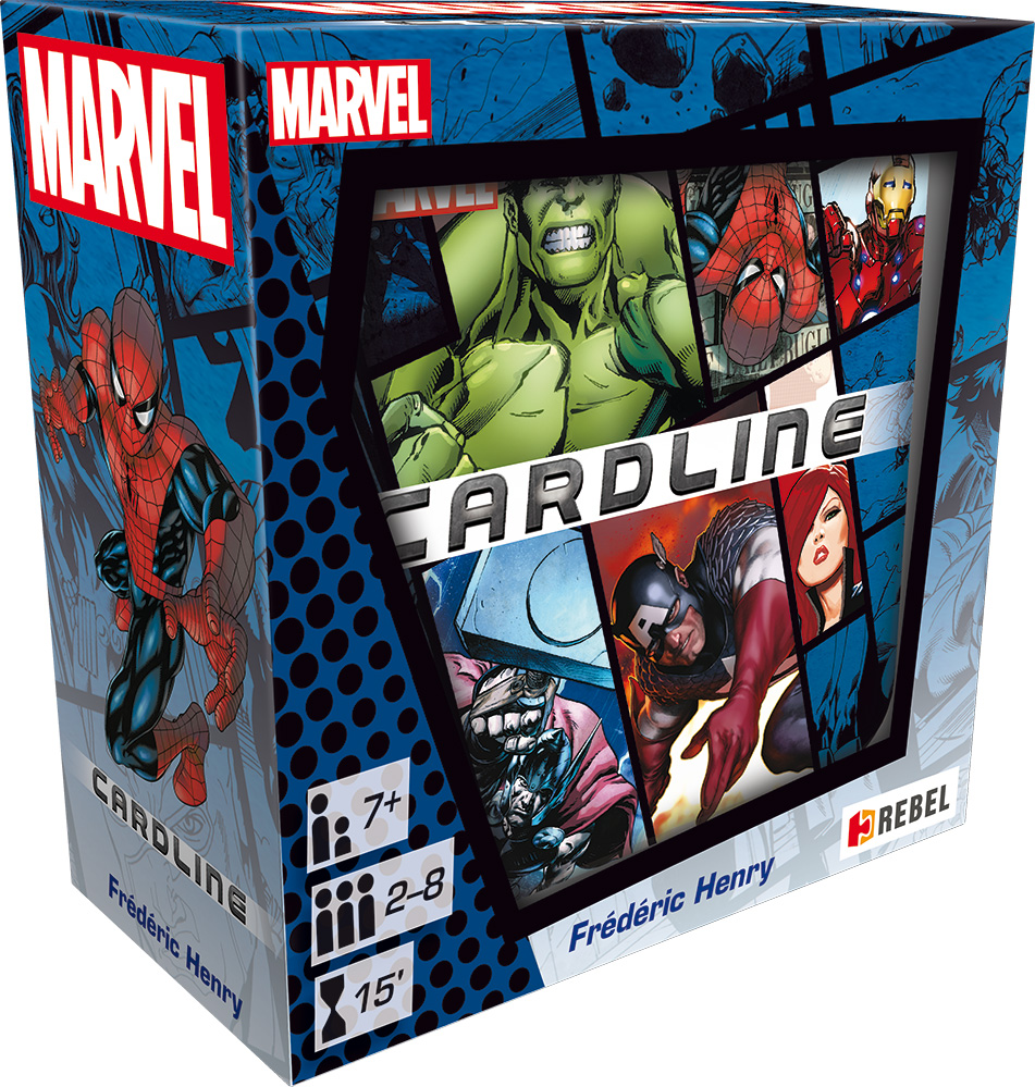 MARVEL: CARDLINE - Rebel - 039549