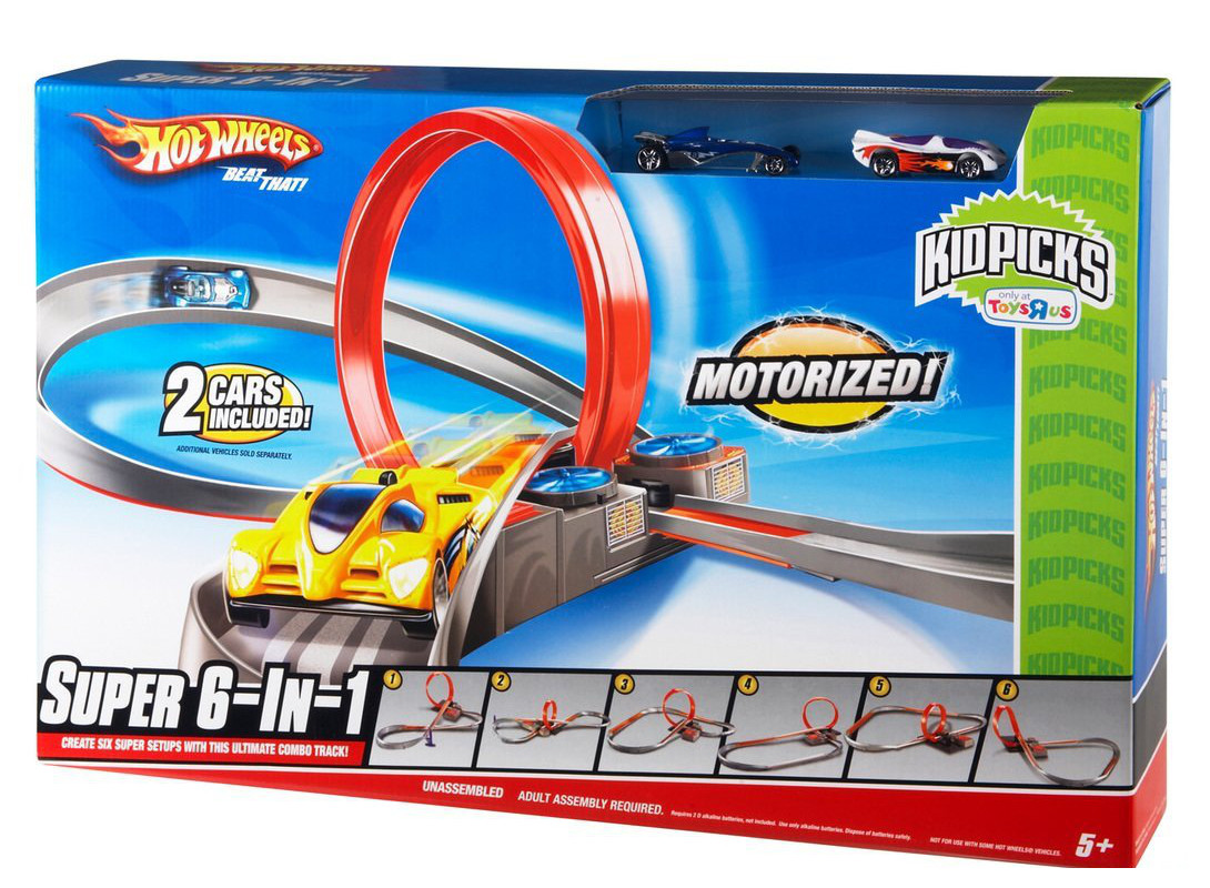 HOT WHEELS SUPER TOR 6 W 1 - DMB14