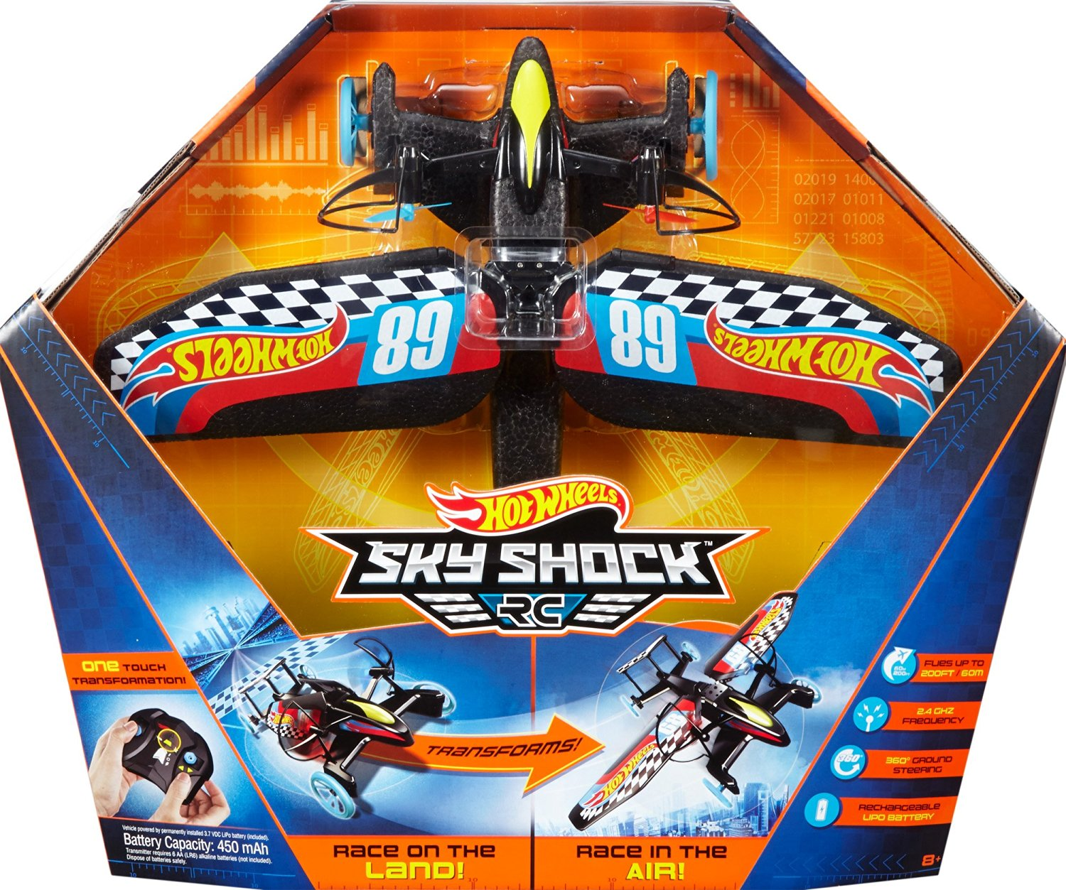 HOT WHEELS - SKY SHOCK - DYD90 DYD92