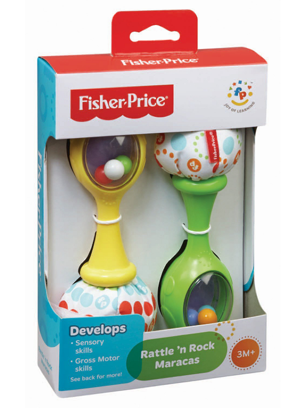 FISHER - PRICE - MARAKASY - BLT33
